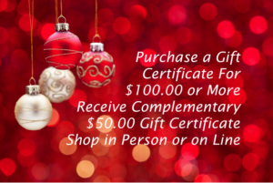 To purchase this offer, go to the Gift Certificate page,fill out info,under special message, write comments and enter promo code ch16 promo.