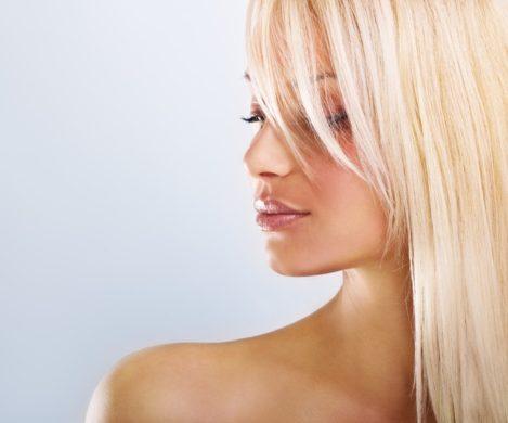 achieving blond hair.