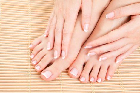Pedicure and Manicure skin care